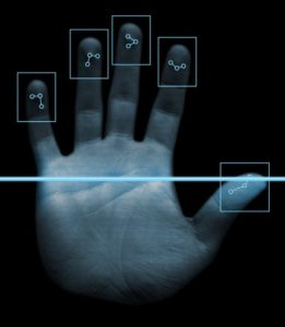 Aadhar Biometric Hand Scanner