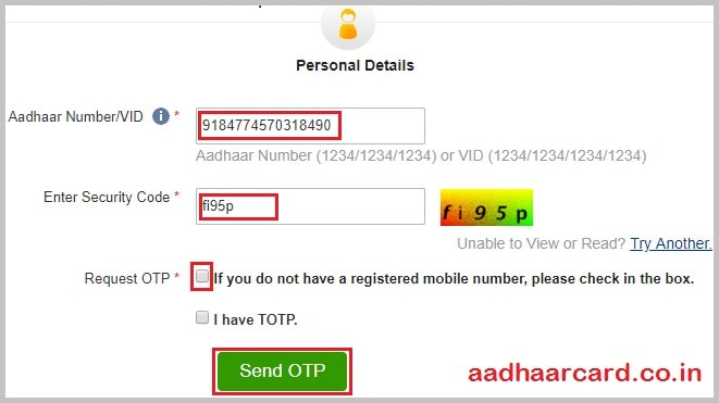 Order Aadhaar Reprint | How to Get Aadhaar Reprinted From UIDAI