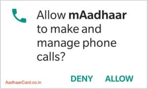 Allow maadhaar to make and manage phone calls